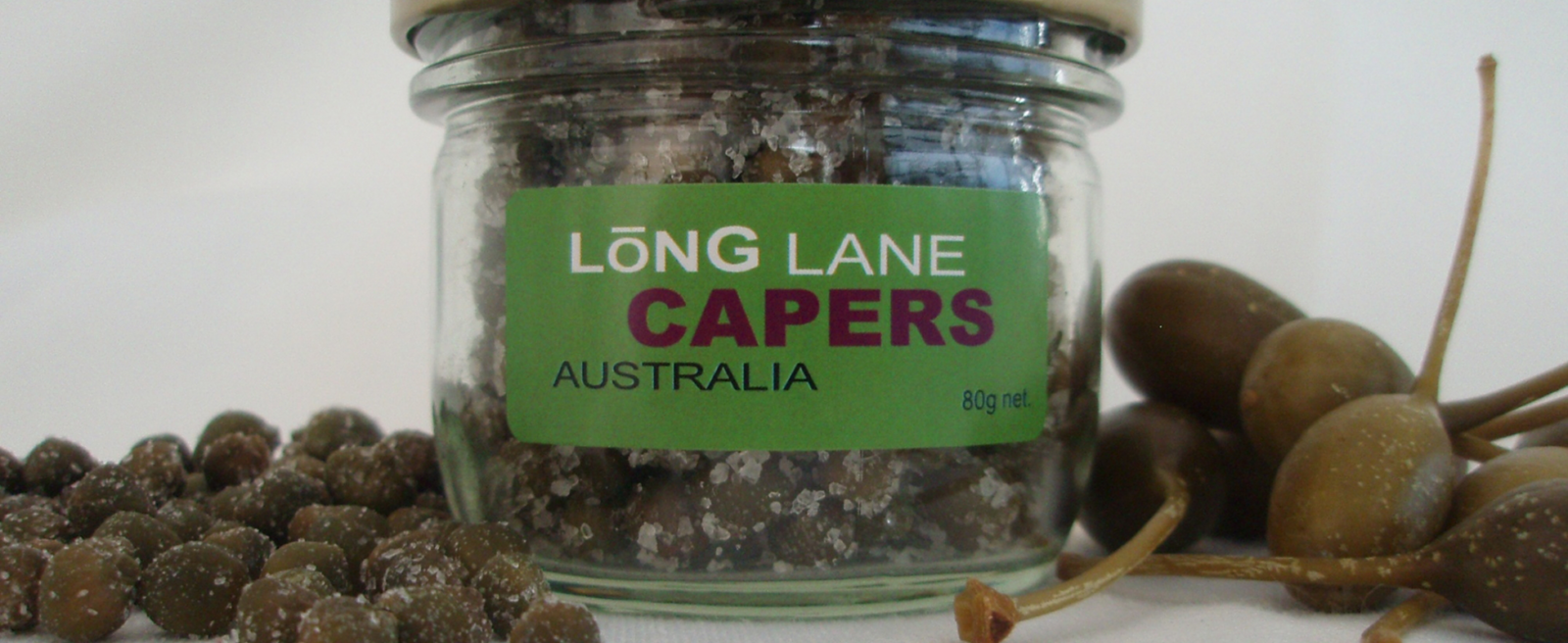 jar of salted capers