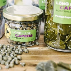 Capers in salte